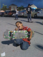 Jose Castillo, 6-year-old skater
