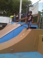 Jose Castillo skateboarding pictures, 1 Cool World Skatepark in Coconut Grove, FL. July 12, 2010