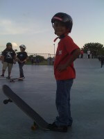 Jose Castillo in SKATE Competition at Westwind Lakes Skatepark, July 9, 2011