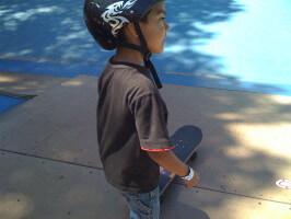 Jose Castillo, skater, One Cool World Skatepark