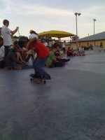 Jose Castillo in SKATE Competition, Westwind Lakes Skatepark- July 9, 2011