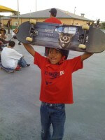 Jose Castillo wins 1st Place in Skate Competition, July 9, 2011, Miami