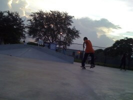 Juan Mercado at SKATE competition, July 9, 2011
