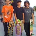 New Skool Skate Team at SKATE competition, Westwind Lakes Skatepark, July 9, 2011. Juan Mercado, Anthony Azcuy