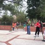 NS Skate TEam video shoot: on set at Amelia Earhart Park, 2012